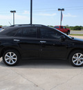 lexus rx 350 2008 black suv gasoline 6 cylinders front wheel drive automatic 76087