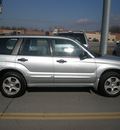 subaru forester 2003 silver suv xs gasoline 4 cylinders sohc all whee drive automatic 13502