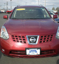 nissan rogue 2008 maroon suv gasoline 4 cylinders all whee drive automatic 13502