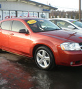 dodge avenger 2008 orange sedan sxt 6 cylinders front wheel drive automatic 13502
