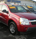 chevrolet equinox 2005 maroon suv ls gasoline 6 cylinders all whee drive automatic 13502