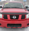 nissan titan 2005 red gasoline 8 cylinders rear wheel drive automatic 13502