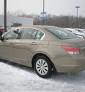 honda accord 2008 tan sedan lx gasoline 4 cylinders front wheel drive automatic 13502
