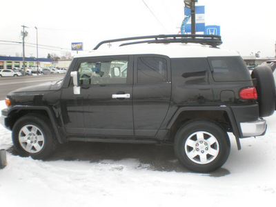toyota fj cruiser 2007 black suv gasoline 6 cylinders 4 wheel drive automatic 13502
