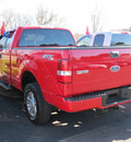 ford f 150 2005 red gasoline 8 cylinders 4 wheel drive automatic with overdrive 13502