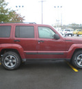jeep liberty 2008 maroon suv sport gasoline 6 cylinders 4 wheel drive automatic 13502
