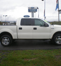 ford f 150 2007 ivory gasoline 8 cylinders 4 wheel drive automatic with overdrive 13502