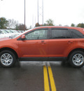 ford edge 2008 orange suv sel gasoline 6 cylinders all whee drive automatic with overdrive 13502