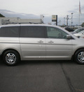 honda odyssey 2007 silver van ex l gasoline 6 cylinders front wheel drive automatic 13502