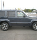 jeep liberty 2008 blue suv sport gasoline 6 cylinders 4 wheel drive automatic 13502