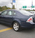ford fusion 2007 blue sedan se gasoline 6 cylinders all whee drive automatic 13502