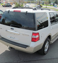 ford expedition 2008 white suv eddie bauer gasoline 8 cylinders 4 wheel drive automatic with overdrive 13502