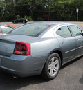 dodge charger 2006 silver sedan gasoline 6 cylinders rear wheel drive automatic 13502