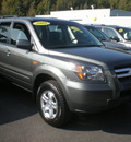 honda pilot 2008 gray suv vp gasoline 6 cylinders 4 wheel drive automatic 13502