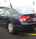 honda civic 2006 blue sedan lx gasoline 4 cylinders front wheel drive automatic 13502