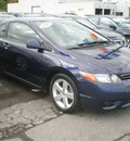 honda civic 2008 blue coupe ex gasoline 4 cylinders front wheel drive automatic 13502