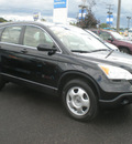 honda cr v 2007 black suv gasoline 4 cylinders all whee drive automatic 13502