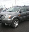 honda pilot 2007 gray suv ex l gasoline 6 cylinders all whee drive automatic 13502