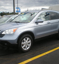 honda cr v 2007 lt blue suv gasoline 4 cylinders all whee drive automatic 13502