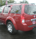 nissan pathfinder 2005 maroon suv gasoline 6 cylinders 4 wheel drive automatic with overdrive 13502