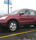honda cr v 2008 maroon suv lx gasoline 4 cylinders front wheel drive automatic 13502