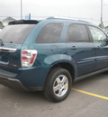 chevrolet equinox 2006 teal suv lt gasoline 6 cylinders all whee drive automatic 13502