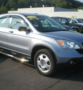honda cr v 2008 gray suv lx gasoline 4 cylinders all whee drive automatic 13502