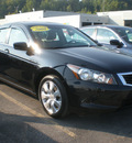 honda accord 2008 black sedan ex l gasoline 4 cylinders front wheel drive automatic 13502