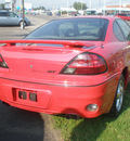 pontiac grand am 2003 red coupe gt gasoline 6 cylinders front wheel drive automatic 13502