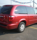chrysler town country 2005 red van lx gasoline 6 cylinders front wheel drive automatic 13502