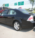 ford fusion 2006 black sedan sel gasoline 6 cylinders front wheel drive automatic 13502