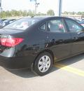 hyundai elantra 2008 black sedan gasoline 4 cylinders front wheel drive automatic 13502