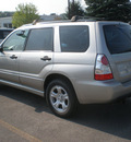 subaru forester 2006 silver suv gasoline 4 cylinders all whee drive automatic 13502