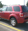 ford escape 2008 red suv xlt gasoline 4 cylinders all whee drive automatic with overdrive 13502