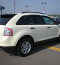 ford edge 2007 ivory suv se gasoline 6 cylinders all whee drive automatic with overdrive 13502