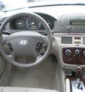 hyundai sonata 2007 white sedan gl gasoline 4 cylinders front wheel drive automatic 13502
