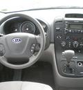 kia sedona 2006 lt blue van gasoline 6 cylinders front wheel drive automatic 13502