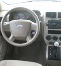 jeep patriot 2007 khaki suv sport gasoline 4 cylinders 4 wheel drive automatic 13502