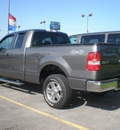 ford f 150 2008 gray styleside gasoline 8 cylinders 4 wheel drive automatic with overdrive 13502