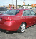 honda accord 2007 maroon sedan ex gasoline 6 cylinders front wheel drive automatic 13502