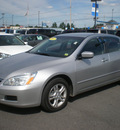 honda accord 2007 silver sedan se gasoline 4 cylinders front wheel drive automatic 13502