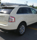 ford edge 2008 ivory suv limited gasoline 6 cylinders all whee drive automatic with overdrive 13502