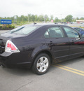 ford fusion 2007 black sedan se gasoline 6 cylinders front wheel drive automatic 13502