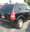 hyundai tucson 2007 black suv gasoline 4 cylinders front wheel drive automatic 13502