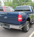 ford f 150 2008 blue styleside gasoline 8 cylinders 4 wheel drive automatic with overdrive 13502