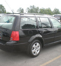 volkswagen jetta 2003 black wagon gls gasoline 4 cylinders front wheel drive 5 speed manual 13502