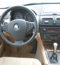 bmw x3 2007 bronze suv gasoline 6 cylinders all whee drive automatic 13502