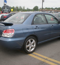 subaru impreza 2007 blue sedan 2 5i gasoline 4 cylinders all whee drive automatic 13502