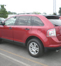 ford edge 2007 red suv se gasoline 6 cylinders all whee drive automatic with overdrive 13502