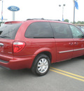 chrysler town country 2005 red van touring gasoline 6 cylinders front wheel drive automatic 13502